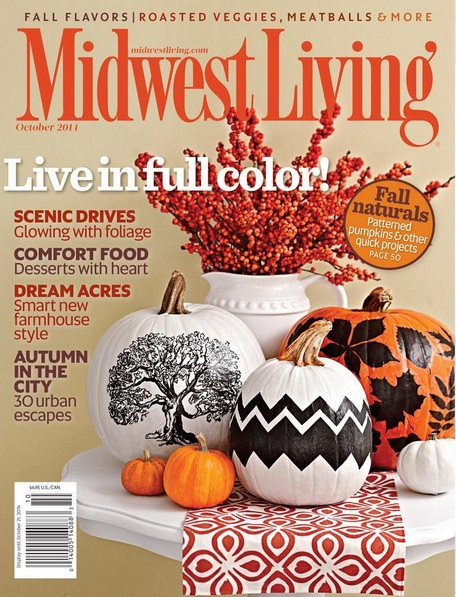 Midwest Living's October 2014 issue features my first byline in the magazine & I'm absolutely thrilled.